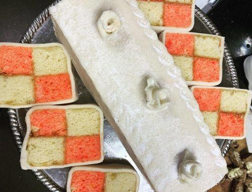 Bake Off - Week 1: Battenberg