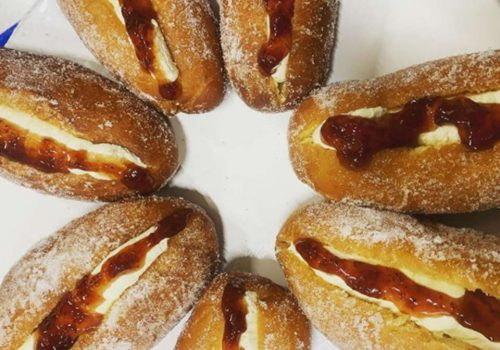 Bake Off - Week 7: Brioche Finger Doughnuts